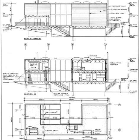 Awesome Architectural Elevation Drawings Plan Elevation
