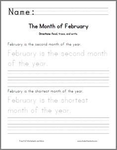 november handwriting practice worksheet   print