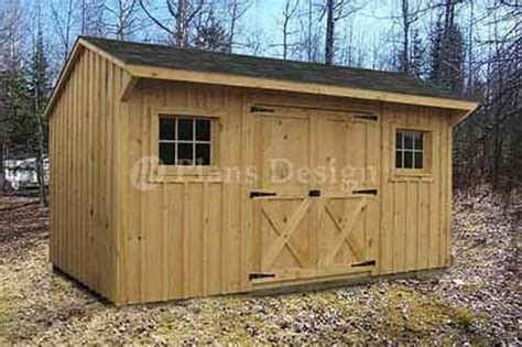 utility garden saltbox roof style shed plans