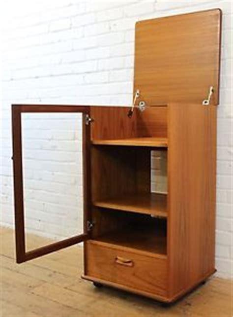vintage hi fi cabinet vintage g plan fresco teak retro hi fi media cabinet with glass door ebay