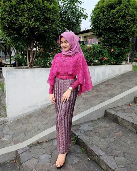 Mau tahu model kebaya yang cocok untuk pemakai hijab? 94 best images about Kondangan Hijab Outfit on Pinterest