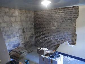 Refaire Un Mur Humide : chape chaux pour chambre en ssol semi enterr maison 1910 ~ Premium-room.com Idées de Décoration