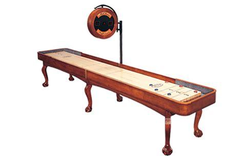 12 ft shuffleboard table 12 foot edmore shuffleboard table mcclure tables