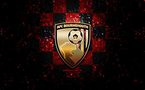 Download wallpapers Bournemouth FC, glitter logo, Premier ...