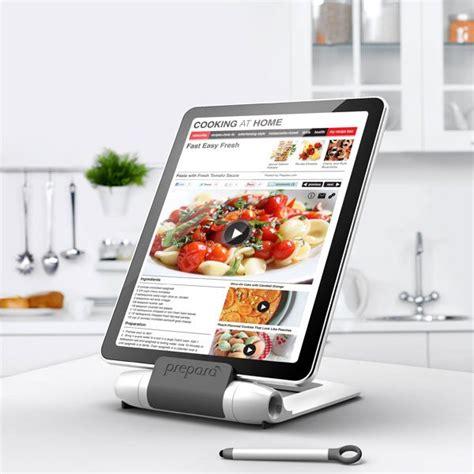 tablette pour la cuisine support pour tablette i prep spécial cuisine preparà