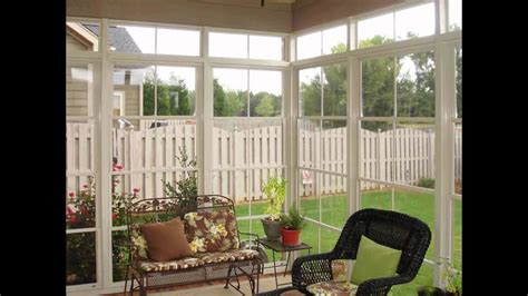 diy sunroom  porch enclosure kits youtube