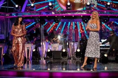 Strictly host Tess Daly 'so sorry' about Nicola Adams ...