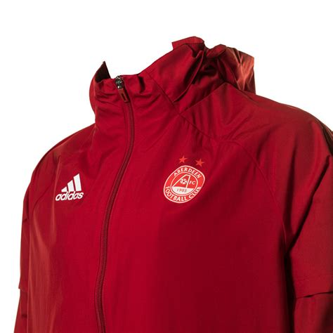 AFC ADULT AW JACKET RED - 1st Team Range | Aberdeen FC