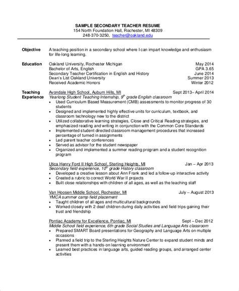 18 sle resume objectives pdf doc free premium