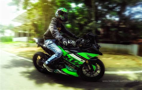 Ktm Rc 200 Modification by Modified Ktm Rc200 Green Viper From Kerala Modifiedx