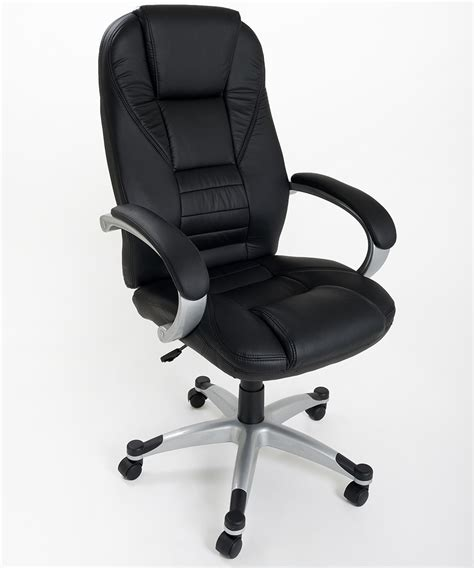 sedia poltrona ikea poltrona in eco pelle nera da ufficio presidenziale