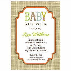 Letter Perfect Unisex Baby Shower Invitations | PaperStyle