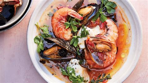 alison romans quick weeknight fish stew  olives