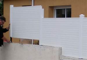 Cloture En Pvc : brises vue les cl tures les panneaux brise vue ~ Melissatoandfro.com Idées de Décoration