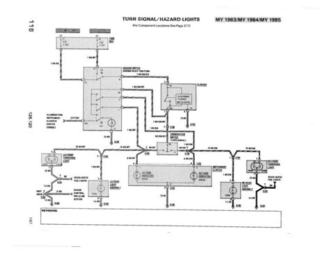 1985 300sd Mercede Part Diagram by Turn Signals Flasher Do Not Work 1985 300sd Peachparts