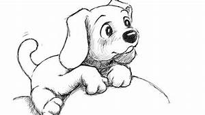 How to draw puppy step by step for beginners and kids step ...