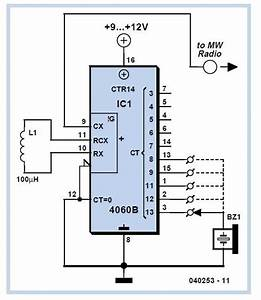 Voltage Controlled Colpitts Oscillator Circuit Diagram