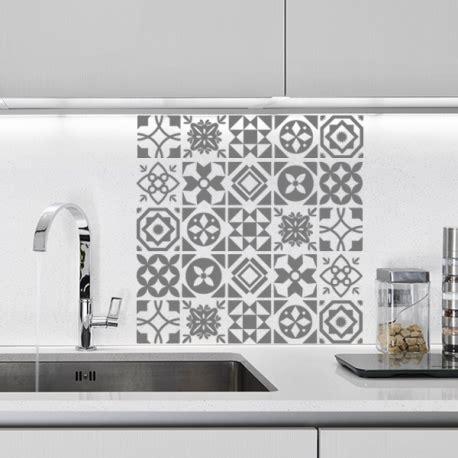 carreaux autocollants cuisine stickers pour salle de bain sur carrelage valdiz