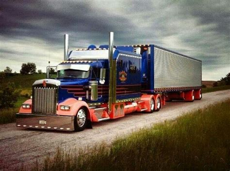big kenworth trucks kenworth w900 studios sleeper rigs pinterest