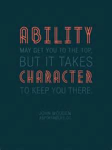 Character Motivational Quote Sports