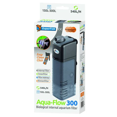 filtre pour aquarium superfish aquaflow 300