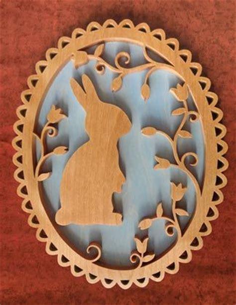 sldk easter bunny overlay plaque wood craft