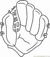 Glove Baseball Draw Coloring Step Pages Drawing Clipart Gloves Clip Cliparts Mitt Ball Printable Basketball Canvas Pdf Football Quotes Pop sketch template