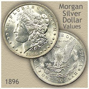 morgan silver dollar  discover  worth
