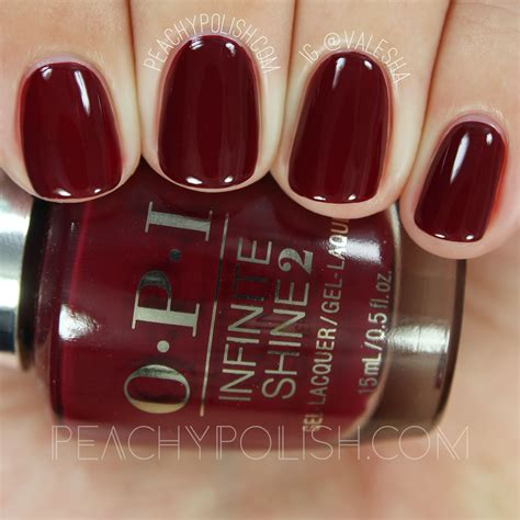 opi infinite shine iconic collection swatches review