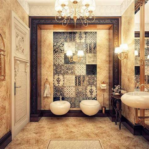 d 233 co salle de bain de luxe et style baroque