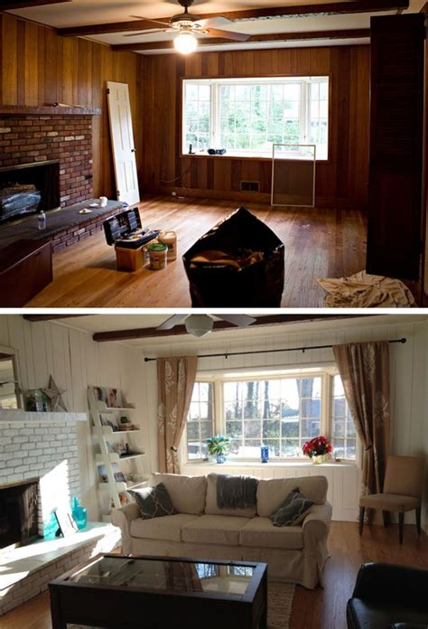 gorgeous family room makeovers    interior design decor paneling