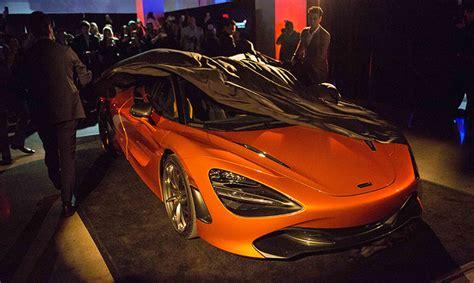 The Auto Gallery Unveils The Mclaren 720s