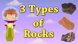 3 Types of Rocks - YouTube