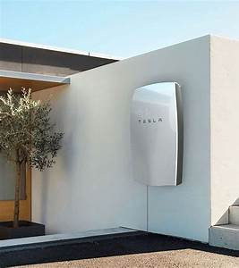 Tesla Home Battery Powerwall Is A Home Battery That Charges Using Electricity Generated From