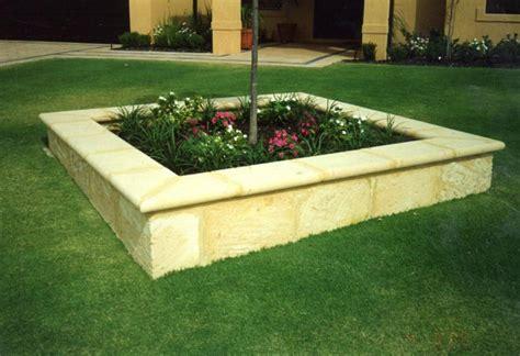 limestone retaining wall supply  install