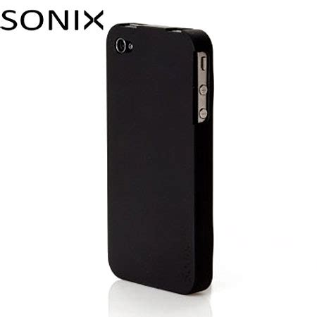 sonix iphone sonix snap for iphone 4 black