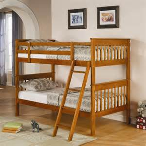 distressed pine twin over twin bunk bed bunk beds