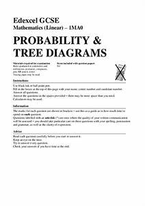 Tree Diagrams Assessment For 9th