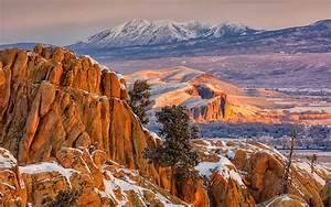 Gunnison Municipality In Colorado Mountain Hartmans Rocks