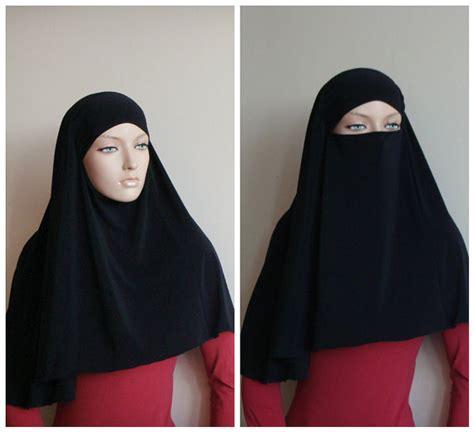 transformer hijab niqab transformerblack niqab black