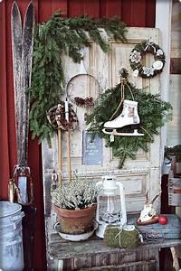 Weihnachtsdeko Vor Haustür : 38 besten deko haust r bilder auf pinterest balkongarten deko fr hling und hauseingang ~ Frokenaadalensverden.com Haus und Dekorationen