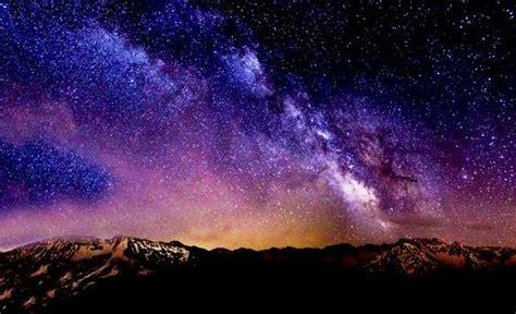 gambar langit galaxy keren pemandanganoce