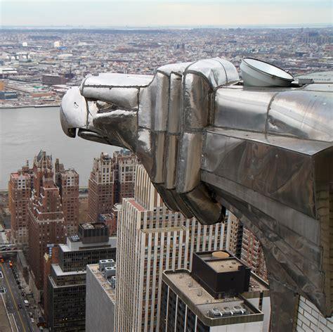 Chrysler Building Eagle file chrysler building eagle jpg wikimedia commons