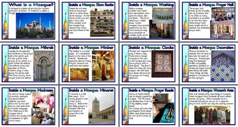 ks2 re teaching resource inside a mosque printable
