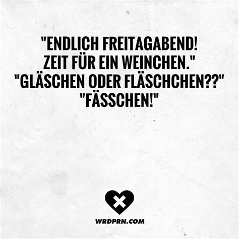 """""""endlich Freitagabend! Zeit Für Ein Weinchen"""" """"gläschen"""