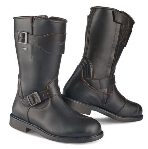 buy motorcycle waterproof boots stylmartin waterproof motorcycle boot legend r dark brown