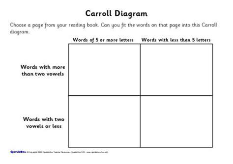 year  carroll  venn diagram worksheets sb
