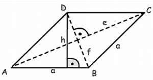 Flächeninhalt Drachenviereck Berechnen : die raute ~ Themetempest.com Abrechnung