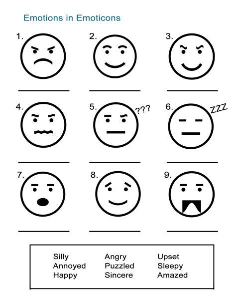 adjectives to describe feelings emoticon emotions all esl