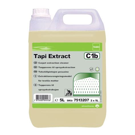 Non Woven Carpet by Taski Tapi Extract 2 X 5 Litre Diversey Direct